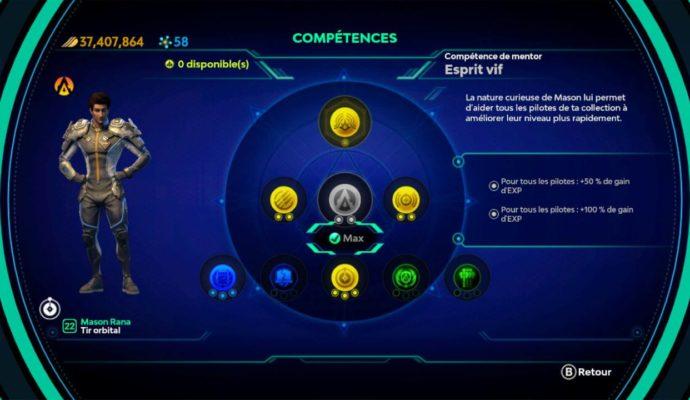 Starlink: Battle for Atlas - Esprit vif de Mason