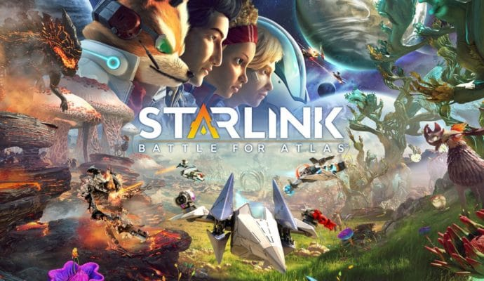 Starlink: Battle for Atlas - artwork principal version Nintendo Switch