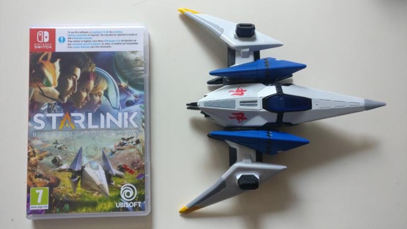 Starlink: Battle for Atlas - comparaison vaisseau boîte de jeu