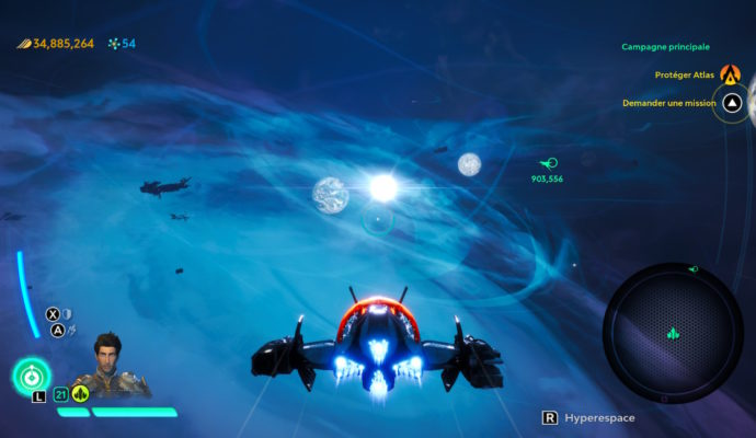 Starlink: Battle for Atlas - vue du système d'Atlas