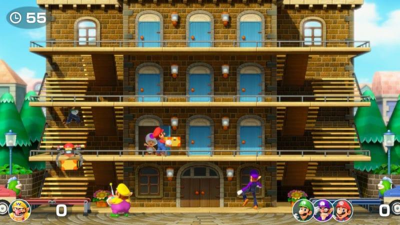 Super Mario Party - Livrez le colis