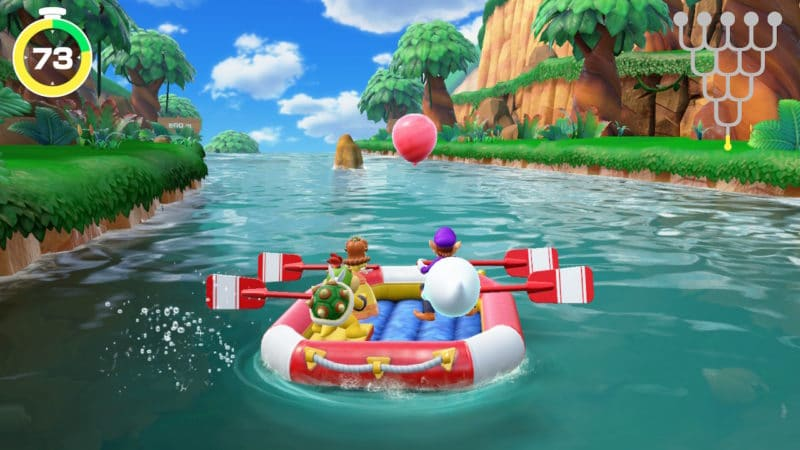 Super Mario Party - Excursion en rafting