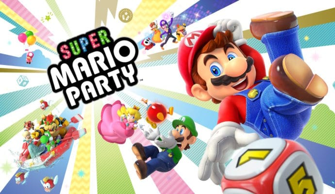 Super Mario Party - Ecran titre