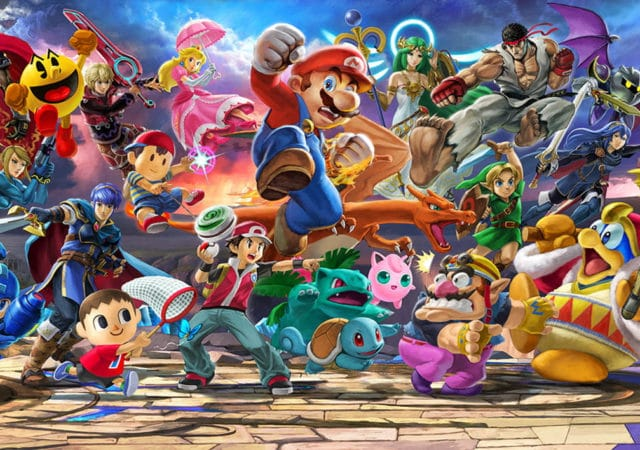 Super Smash Bros. Ultimate - Tous les personnages