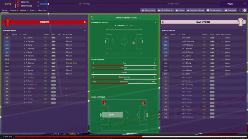 Football Manager 2019 - match 2