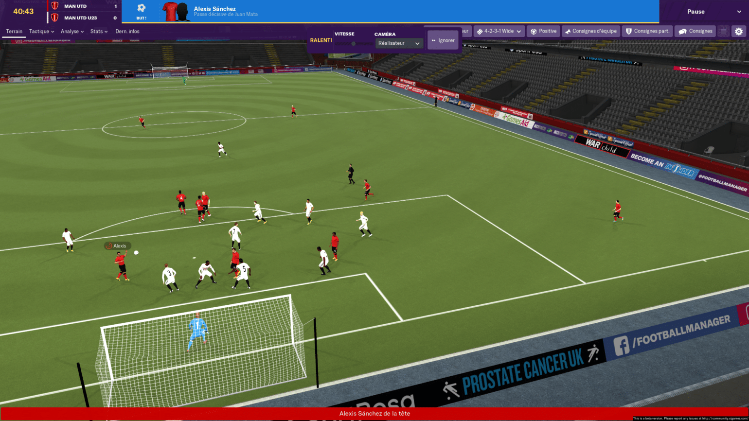 Football Manager 2019 - graphisme 1