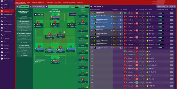 Football Manager 2019 - outil stratégie 1