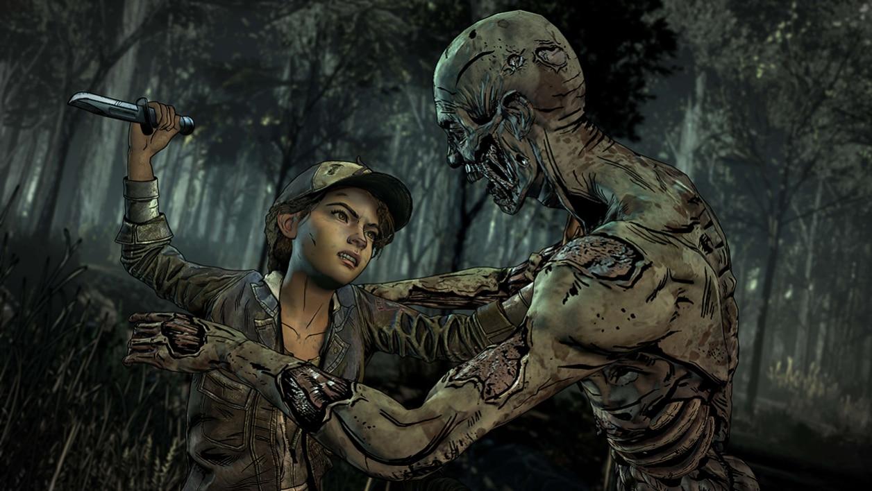 The Walking Dead L'ultime saison Clémentine zombie