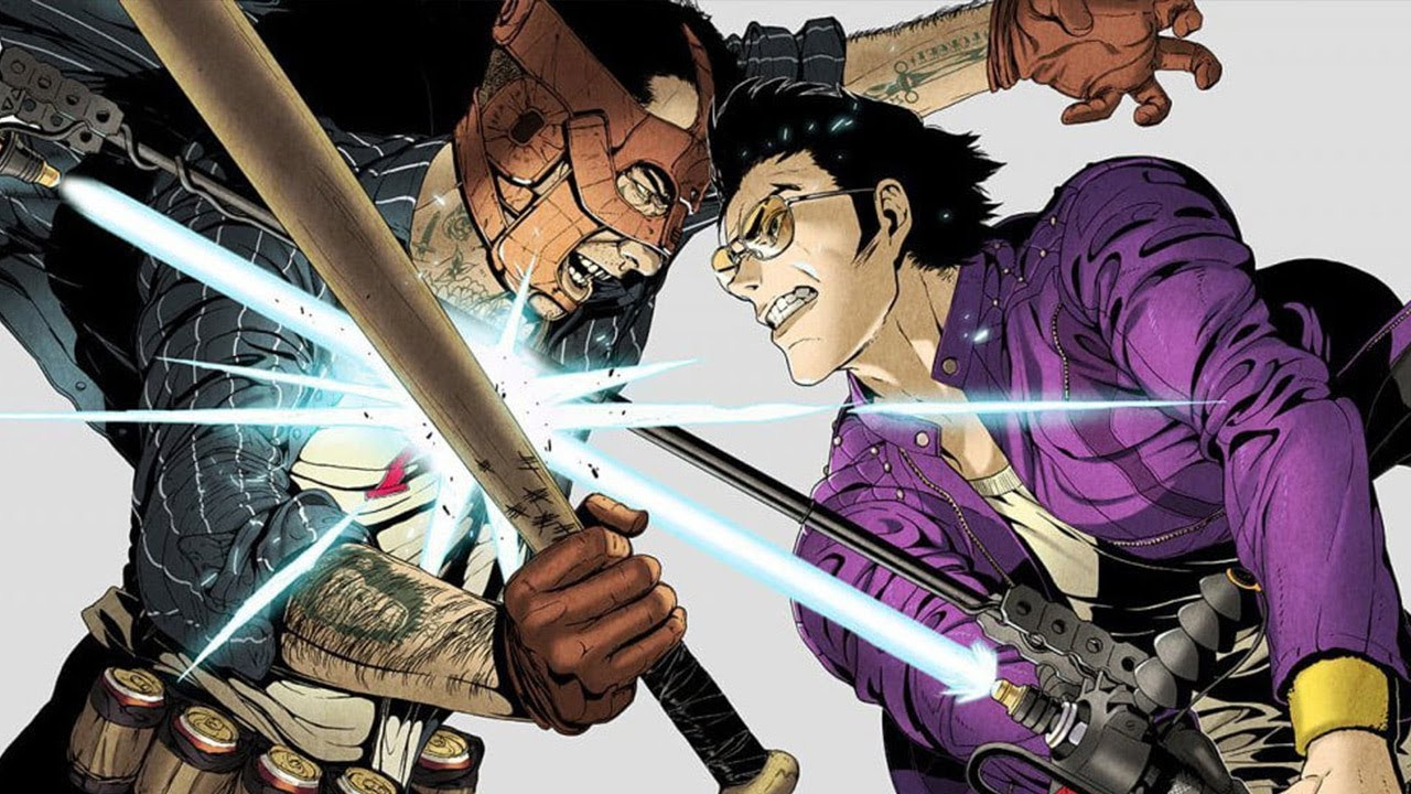 Travis Strikes Again: No More Heroes - artwork principal