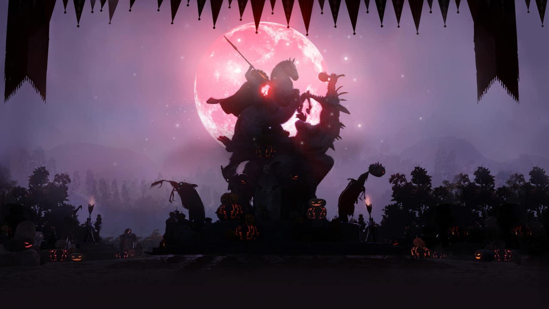 black desert online halloween cheval