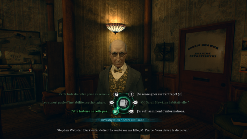 test call of cthulhu roue des dialogues