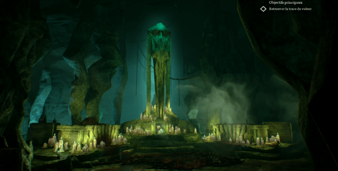 test call of cthulhu grotte