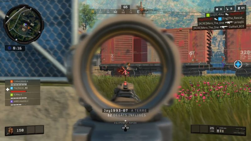 test call of duty black ops 4 blackout tueur