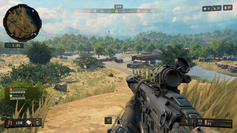 test call of duty black ops 4 blackout exploration