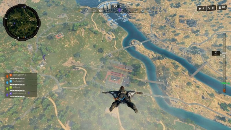 test call of duty black ops 4 blackout saut