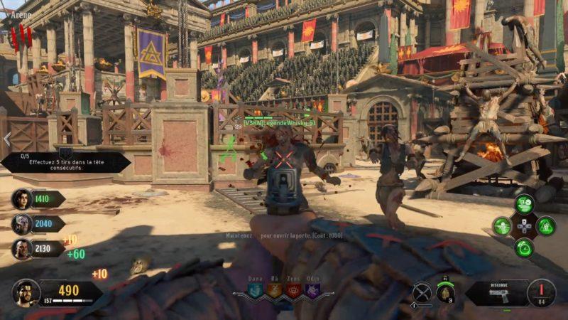 test call of duty 4 multijoueur zombis arène