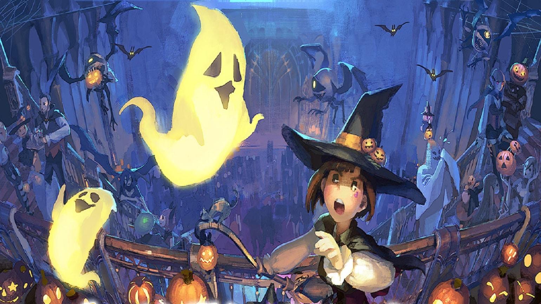 final fantasy XIV - fantômes et sorcière
