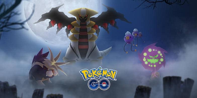 Pokémon GO - Halloween banner 2018