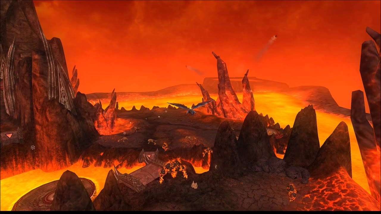 everquest 2: chaos descending volcan