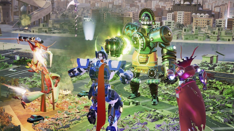 override: mech city brawl combat