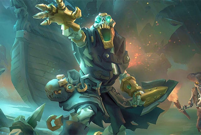 sea of thieves shrouded spoils pirate