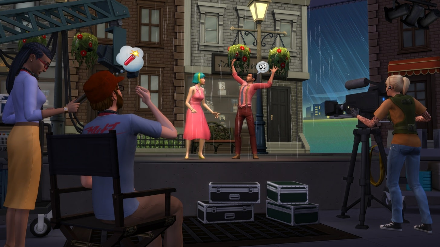Les Sims 4 Heure de Gloire acteurs