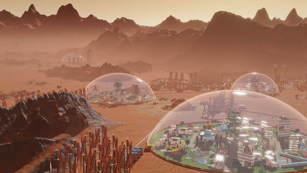 surviving mars space race dome