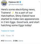 Pokémon GO - Élekid special