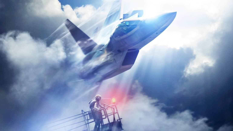 Ace Combat 7: Skies Unknown - Un avion de chasse