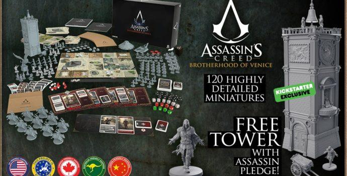 Assassins Creed Brotherhood of venice jeu de plateau