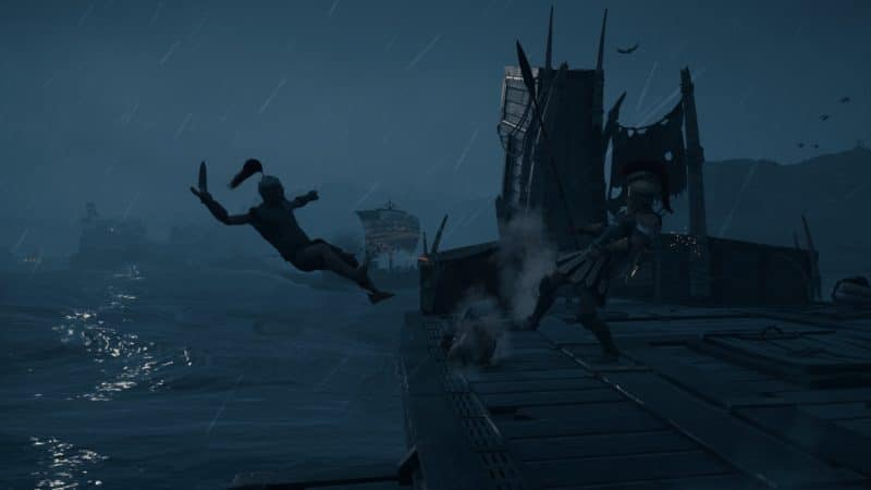 Assassin's Creed Odyssey Spartan Kick