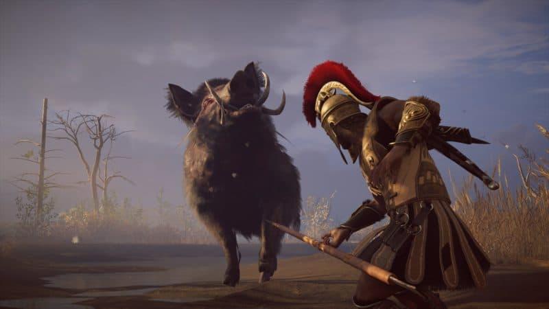 Assassin's Creed Odyssey le rêve humide d'Obélix