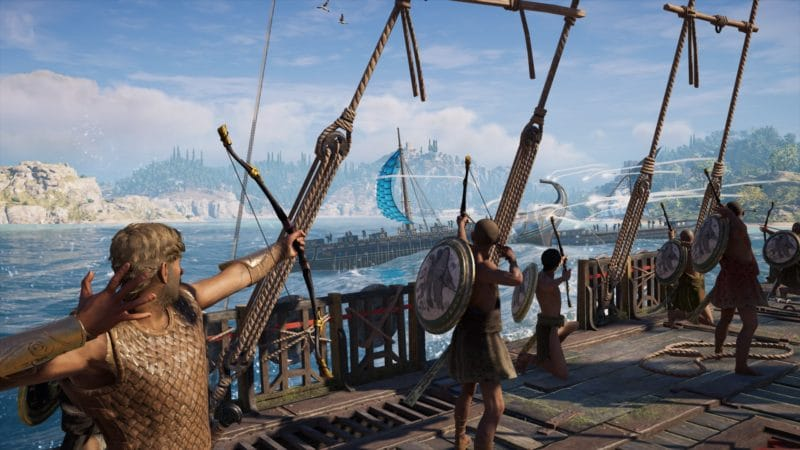 Assassin's Creed Odyssey combat naval