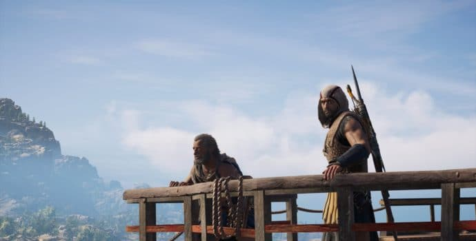 Assassin's Creed Odyssey Alexios et Barnabas