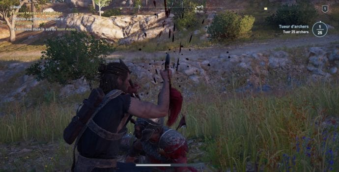 Assassin's Creed Odyssey Assassinat réussi