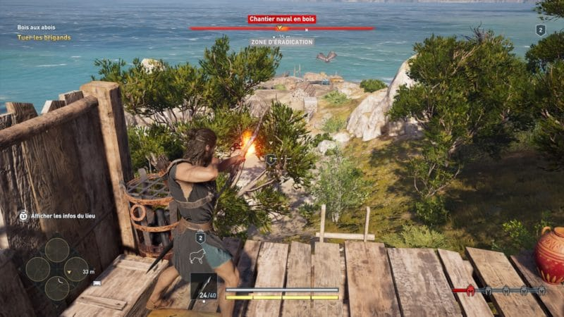 Assassin's Creed Odyssey archerie