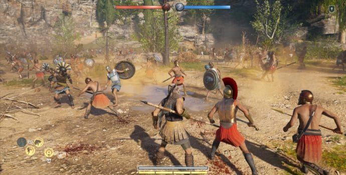 Assassin's Creed Odyssey bataille