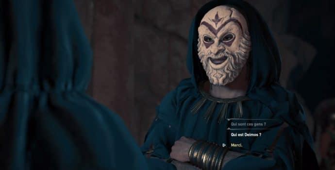 Assassin's Creed Odyssey culte de kosmos