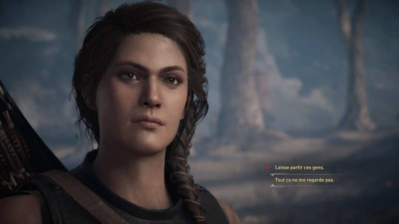 Assassin's Creed Odyssey choix