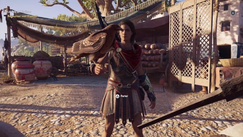 Assassin's Creed Odyssey Kassandra et Ikaros