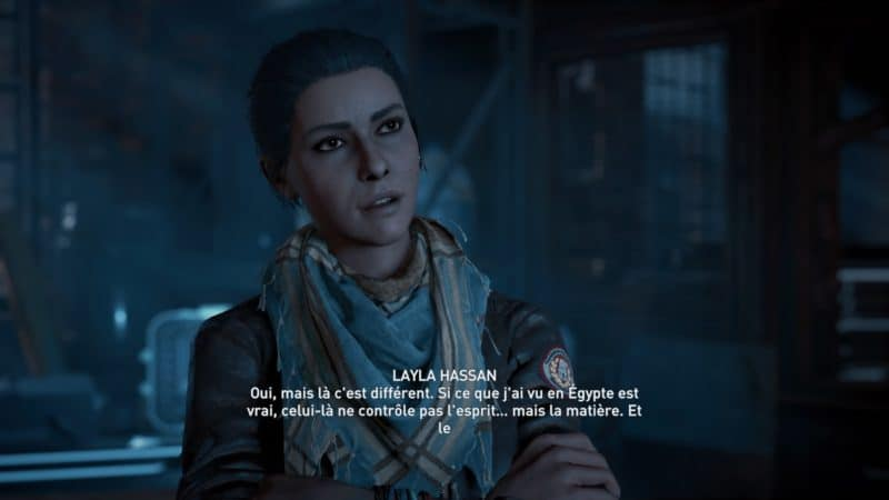 Assassin's Creed Odyssey Layla Hassan