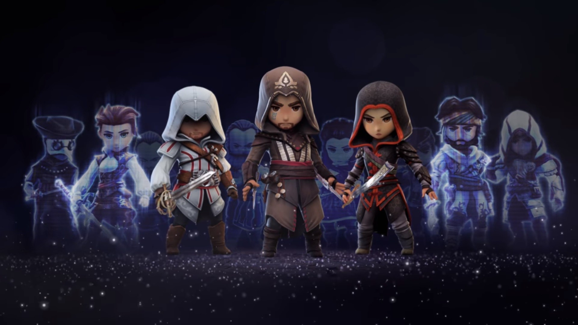 Assassin's Creed Rebellion assassins