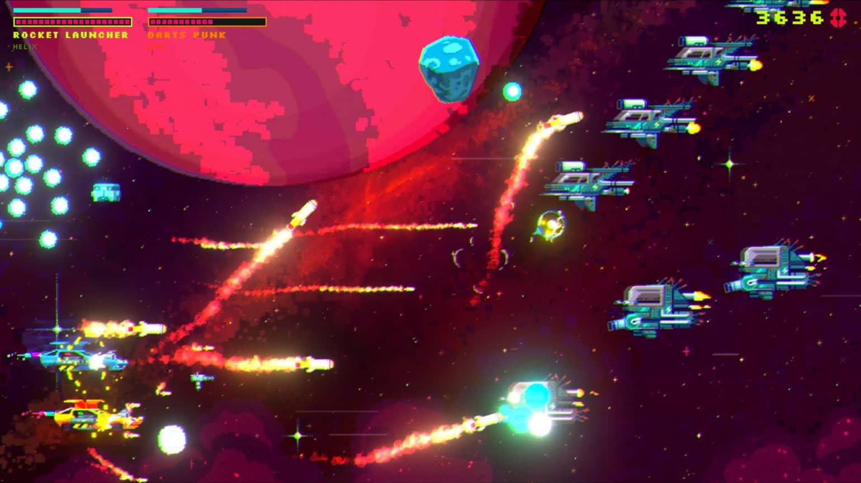 Black Paradox combat spatial