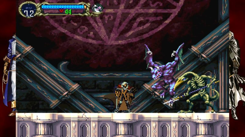 test castlevania requiem symphony of the night & rondo of blood alucard boss