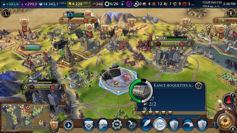 Civilization VI - Bombardement en règle