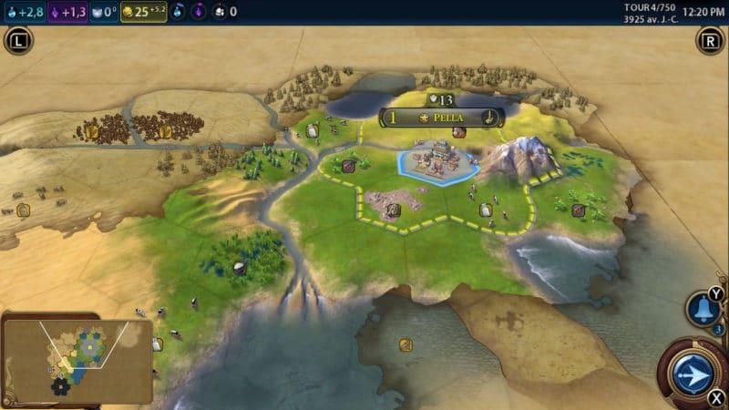 Civilization VI - des débuts humbles