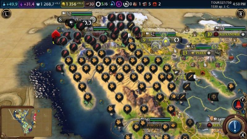 Civilization VI - quand les bots se lâchent