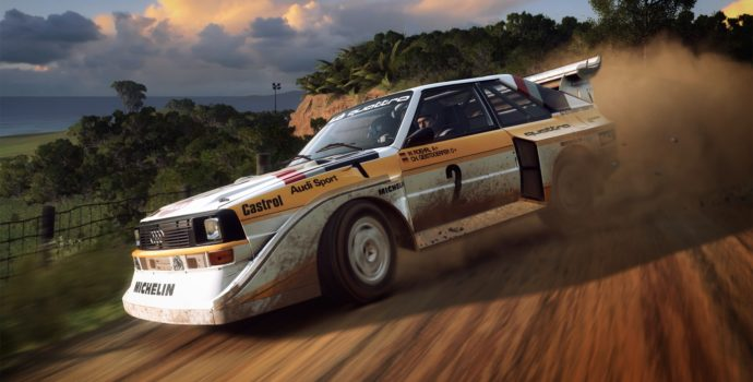 Dirt rally 2.0 - Audi Quattro