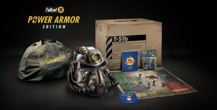 Fallout 76 édition Power Armor