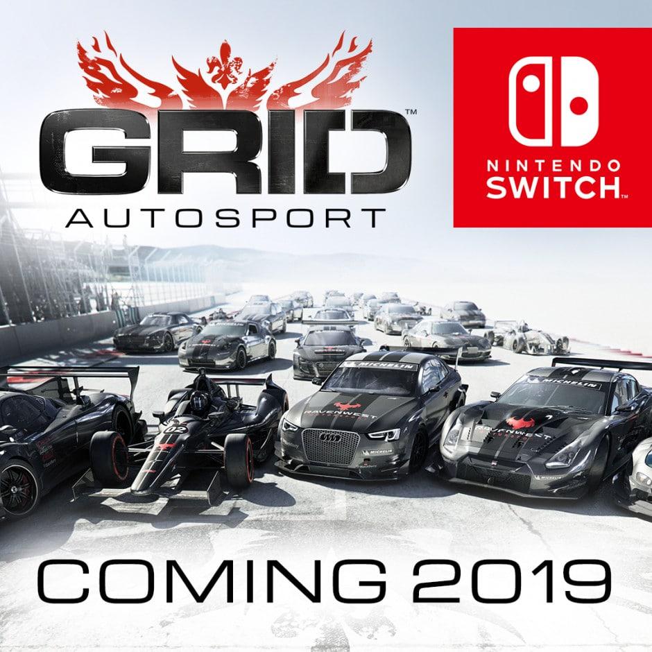 GRID Autosport - annonce nintendo switch